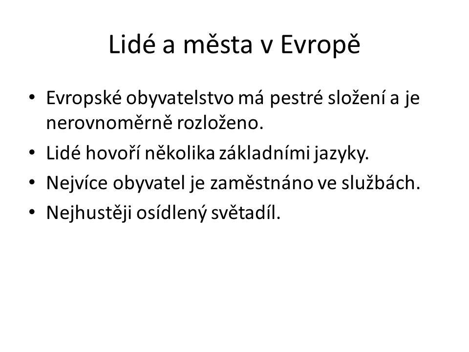Evropské jazyky Indoevropské jazyky – 1.Slovanské jazyky – Slované, východní a střední Evropa ( Češi, Rusové, Bulhaři) 2.