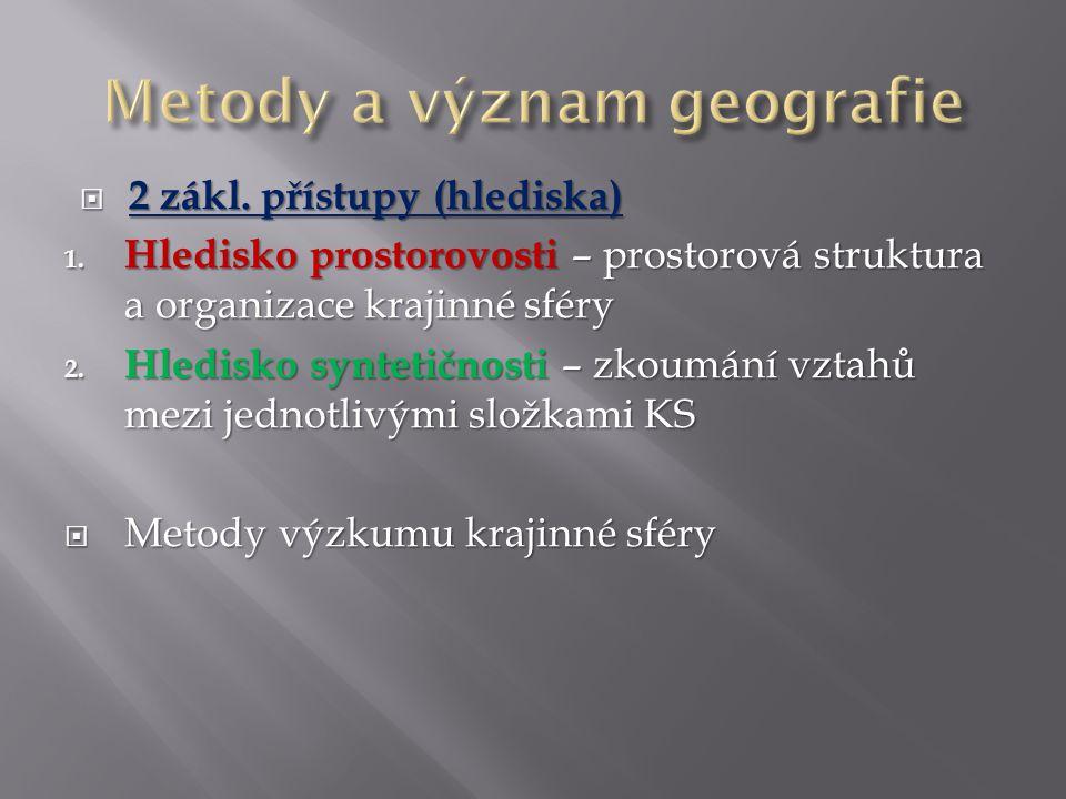 2 zákl.přístupy (hlediska) 1.