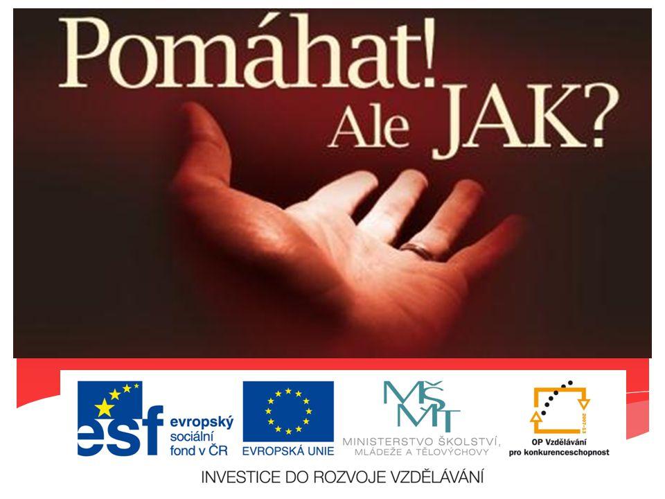 Projekt CZ.1.07/3.1.00/37.0086 Další vzdělávání v oblasti psychosociální a duchovní péče Tento projekt je financován z prostředků Evropského sociálního fondu prostřednictvím Operačního programu Vzdělávání pro konkurenceschopnost a státního rozpočtu ČR