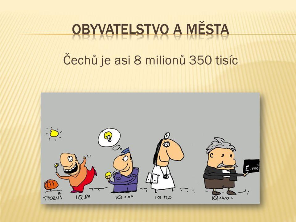 Moravanů je asi 1 milion 360 tisíc