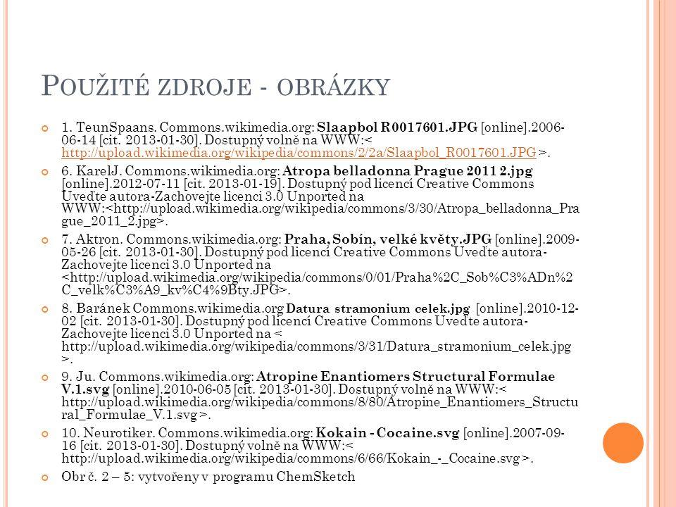 P OUŽITÉ ZDROJE - OBRÁZKY 1. TeunSpaans. Commons.wikimedia.org: Slaapbol R0017601.JPG [online].2006- 06-14 [cit. 2013-01-30]. Dostupný volně na WWW:.