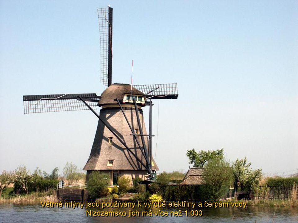 Typický obchod s chutnými sýry z holanských mléčných farem...