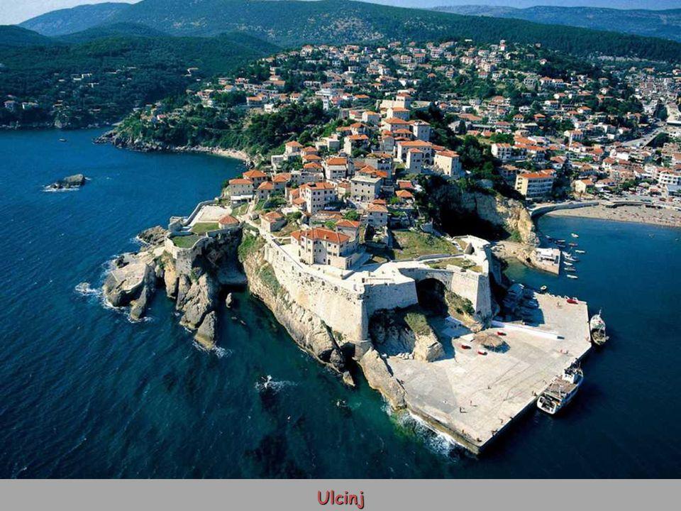 Pobřeží Černé Hory
