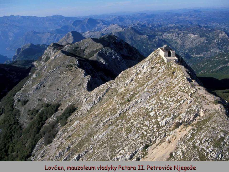 Pohoří Lovćen, Národní park