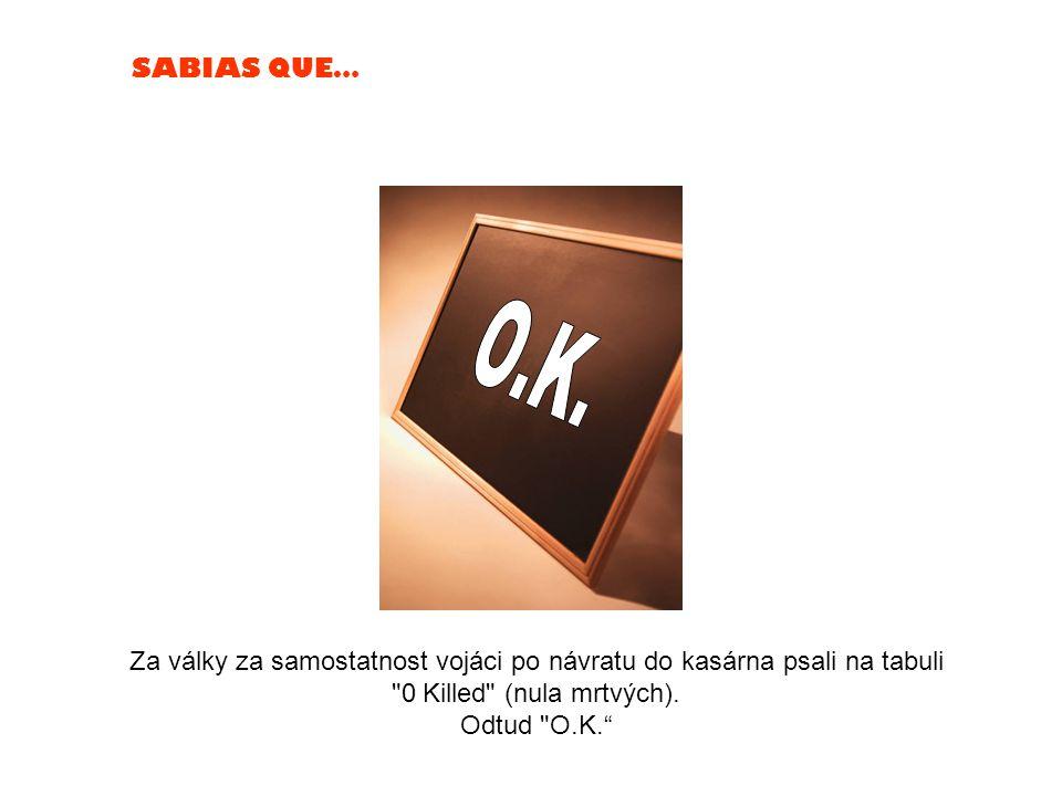 SABIAS QUE… Nelze si strčit do pusy pěst (svojí)