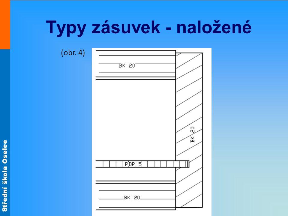 Střední škola Oselce Typy zásuvek - naložené (obr. 4)