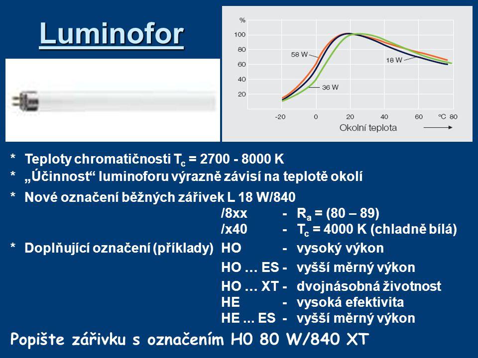 zapojení používané dříve v Německu – větší tepelné ztráty na tlumivce Zapojení s elektromagnetickým předřadníkem Popište jednotlivá zapojení