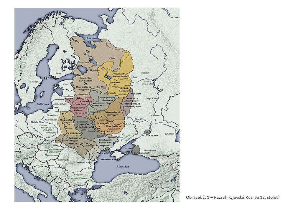 Zdroje : Obrázek 1: Rozsah Kyjevské Rusi ve 12.století [cit.