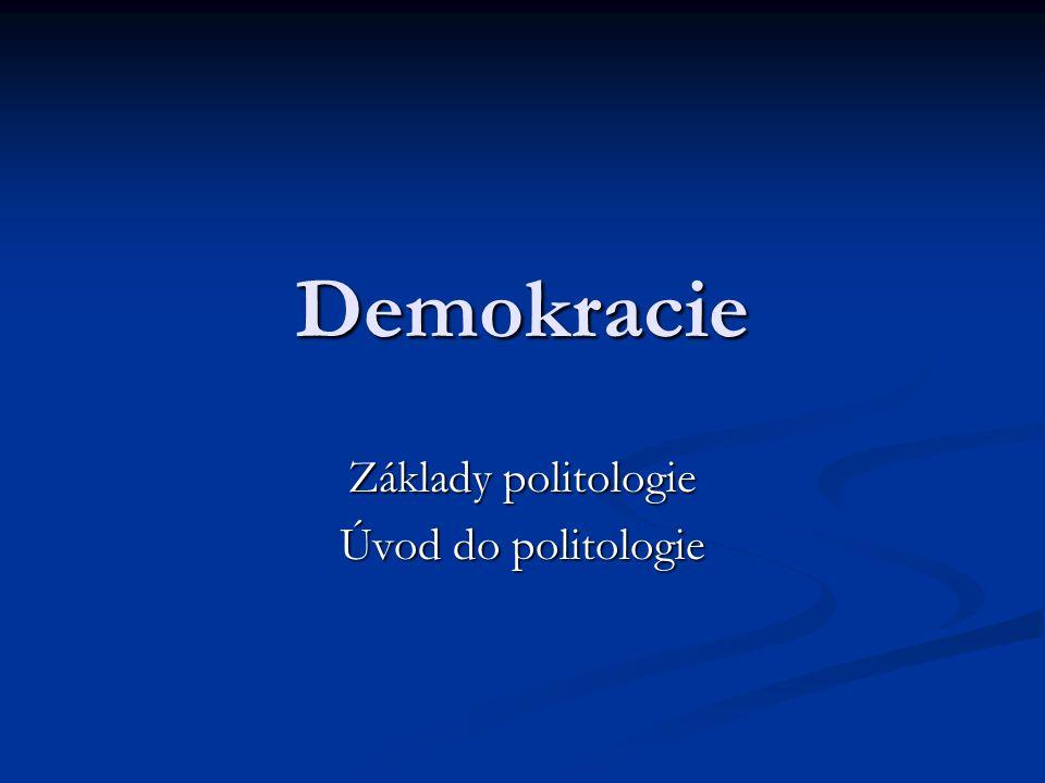 Co je to demokracie?