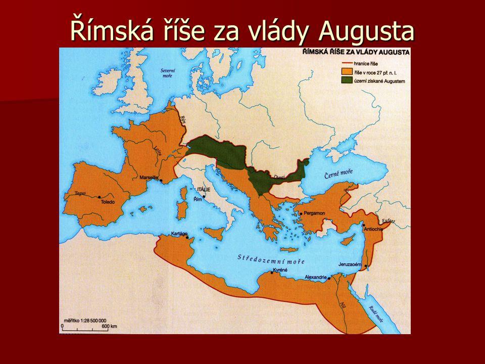 Římská říše za vlády Augusta