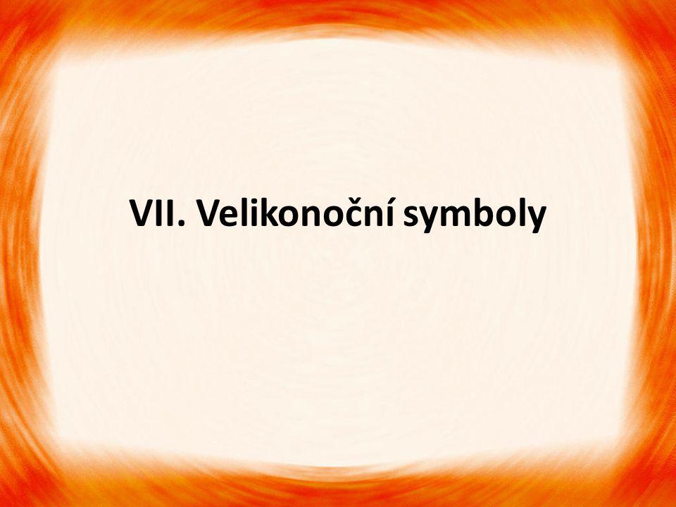 VII. Velikonoční symboly