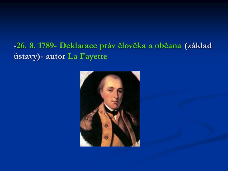 -6.10. 1789- dav lidu pronikl do Versailles a donutil krále s rodinou přesídlit do Paříže -r.