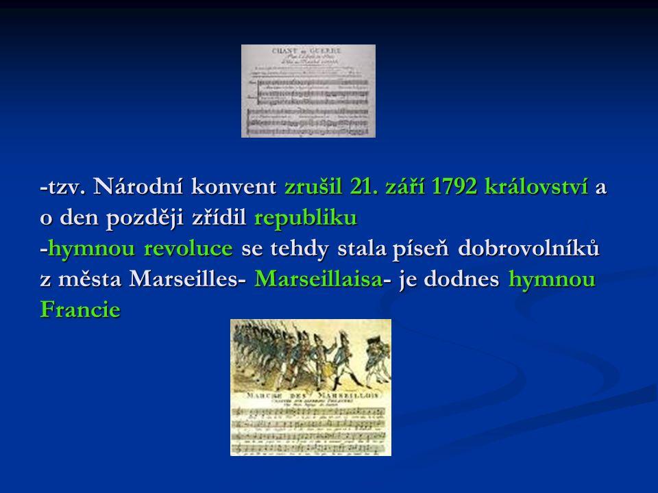 Časové rozdělení revoluce: 1.fáze: 14. července 1789 (dobytí Bastily)- 10.