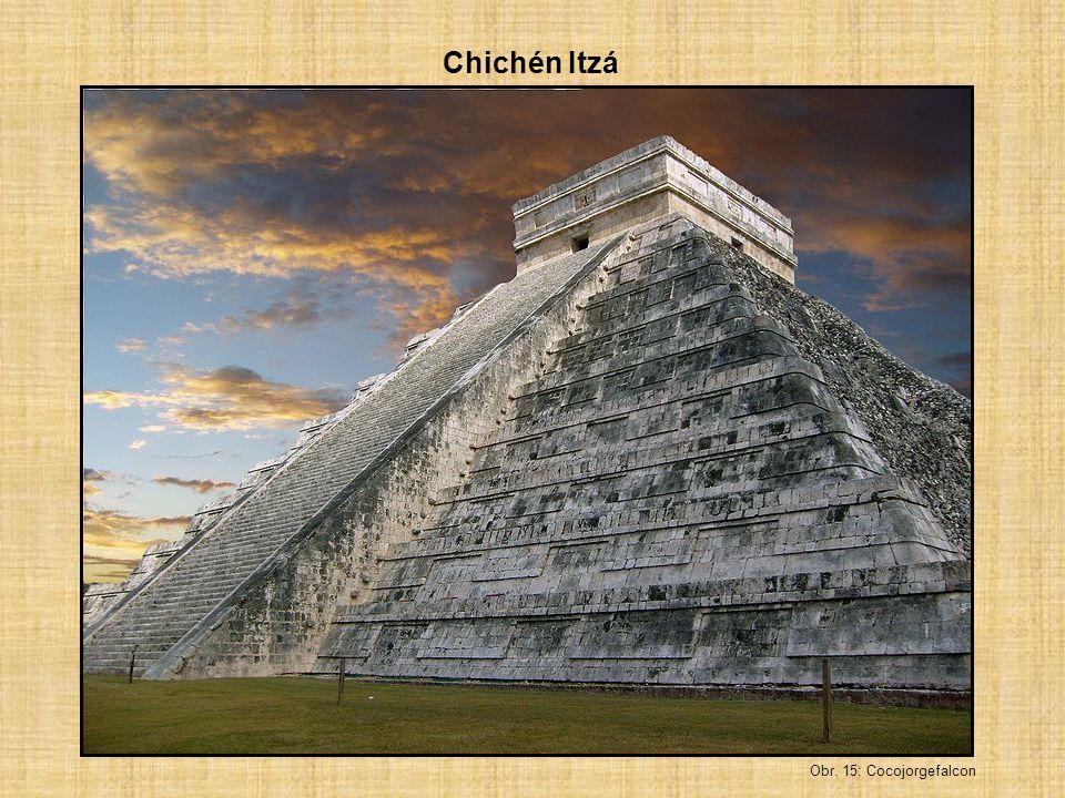 Chichén Itzá Obr. 15: Cocojorgefalcon