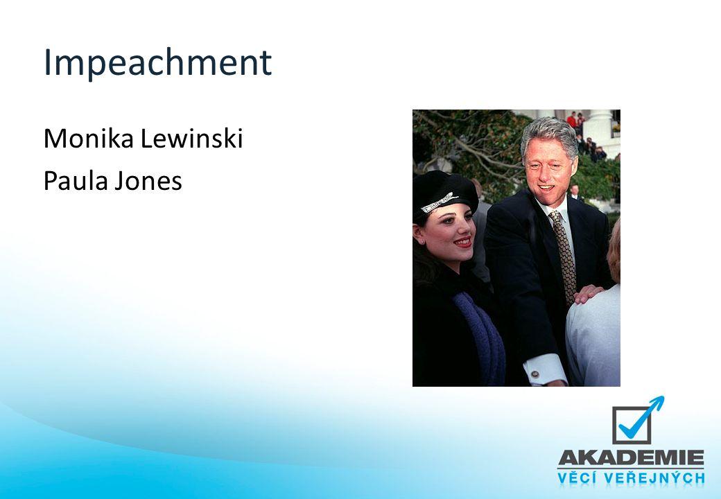Impeachment Monika Lewinski Paula Jones