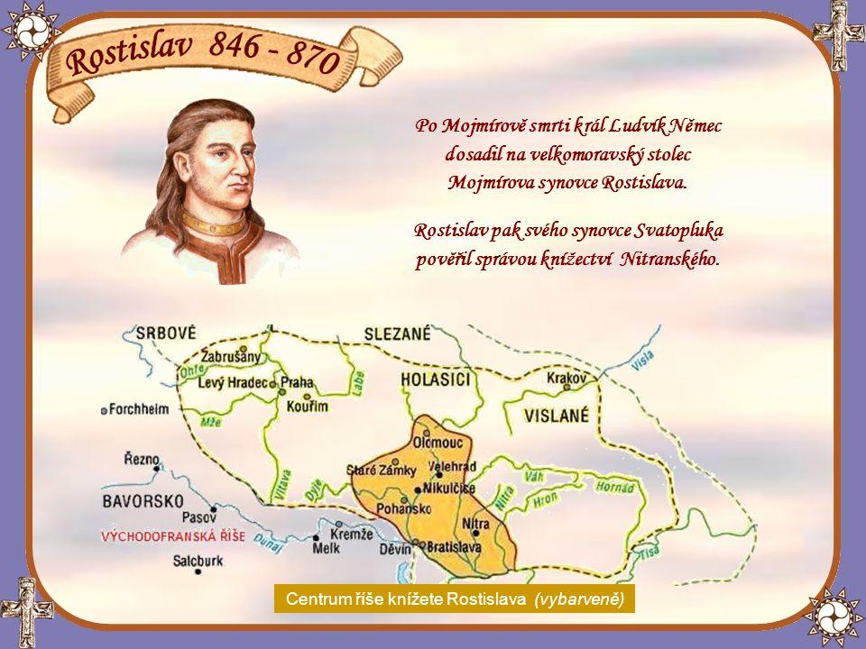 Při vpádu krále Ludvíka II.