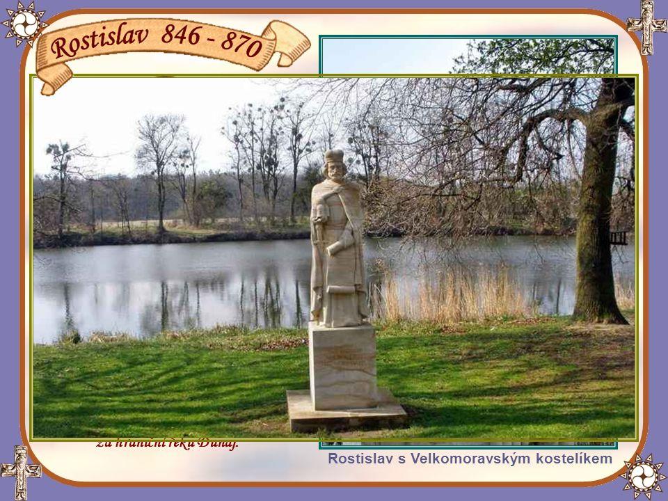 Po Mojmírově smrti král Ludvík Němec dosadil na velkomoravský stolec Mojmírova synovce Rostislava.