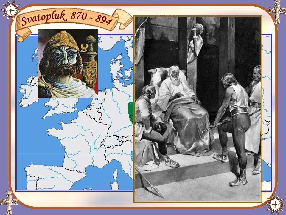 Před smrtí Svatopluk své syny vyzýval ke svornosti a k zachování vlastní politické moci, nezávislé na Franské říši.