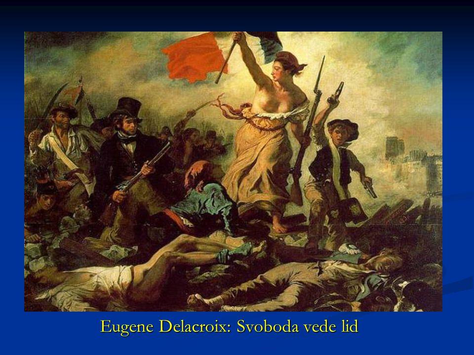 Eugene Delacroix: Svoboda vede lid