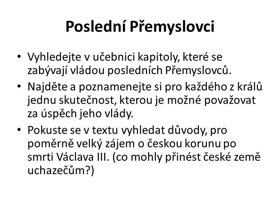 Královské sliby Pracujte s textem Privilegia pro Moravu krále Jana Lucemburského z r.