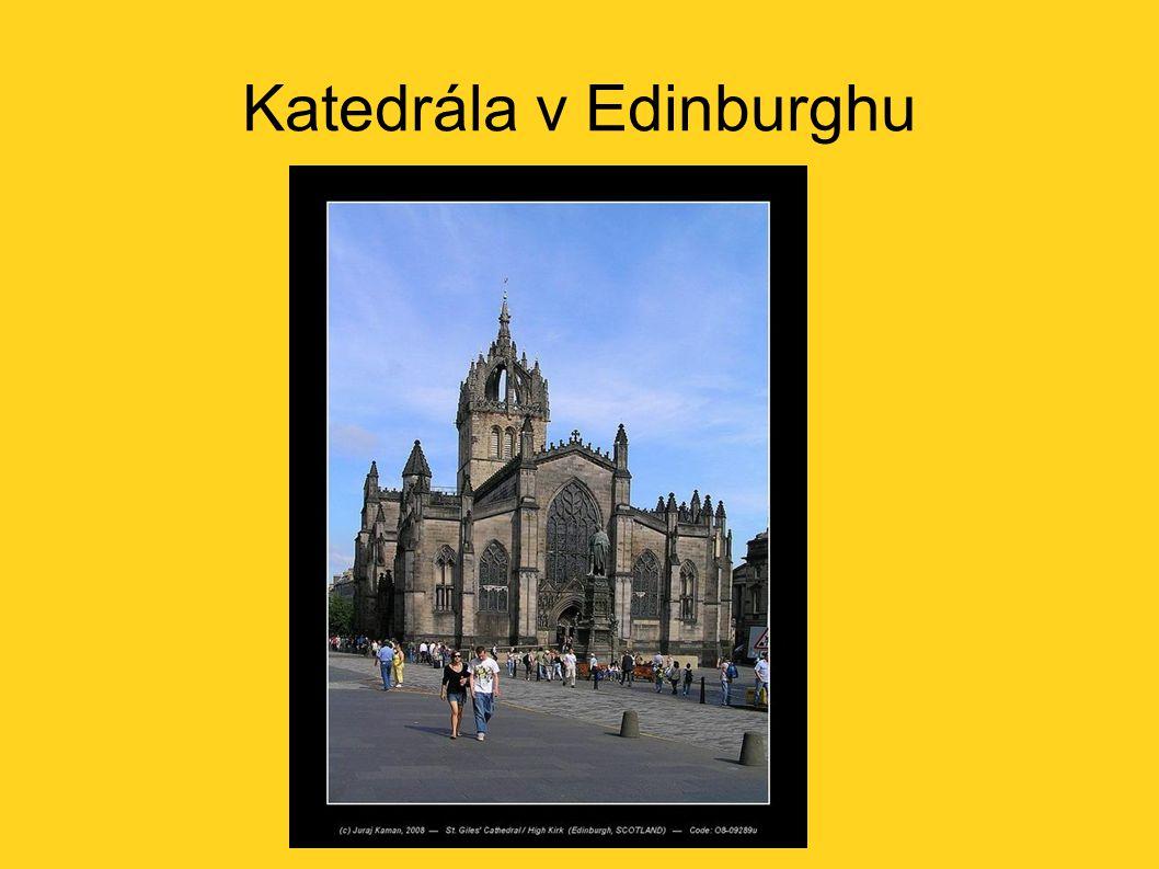 Katedrála v Edinburghu