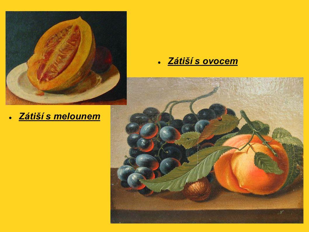 Zátiší s melounem Zátiší s ovocem