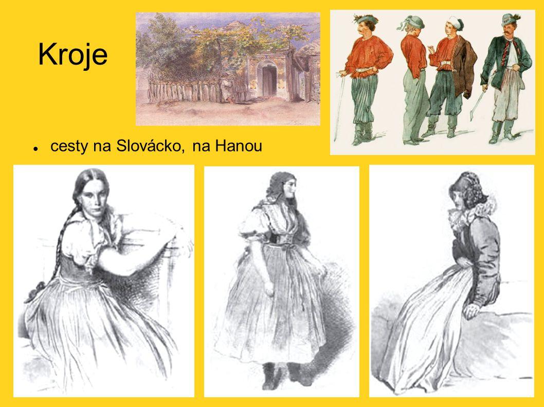 Kroje cesty na Slovácko, na Hanou