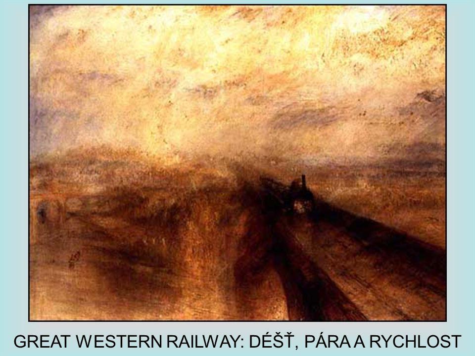 GREAT WESTERN RAILWAY: DÉŠŤ, PÁRA A RYCHLOST