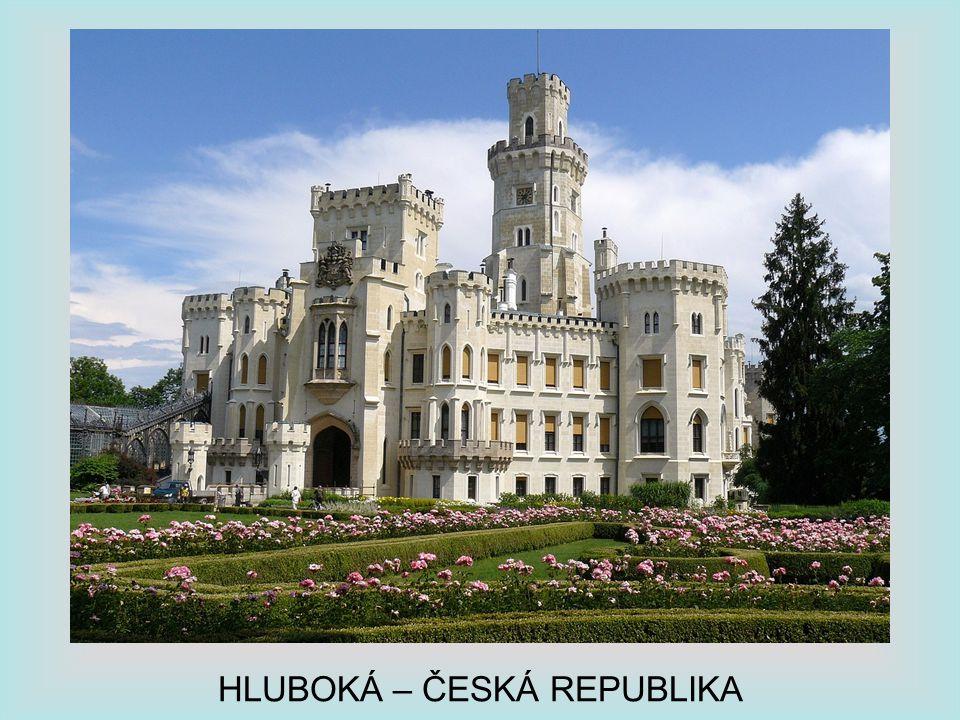 HLUBOKÁ – ČESKÁ REPUBLIKA