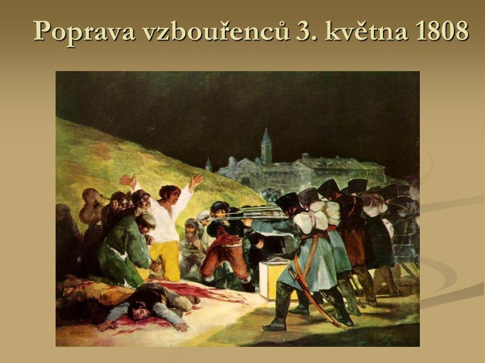 Poprava vzbouřenců 3. května 1808