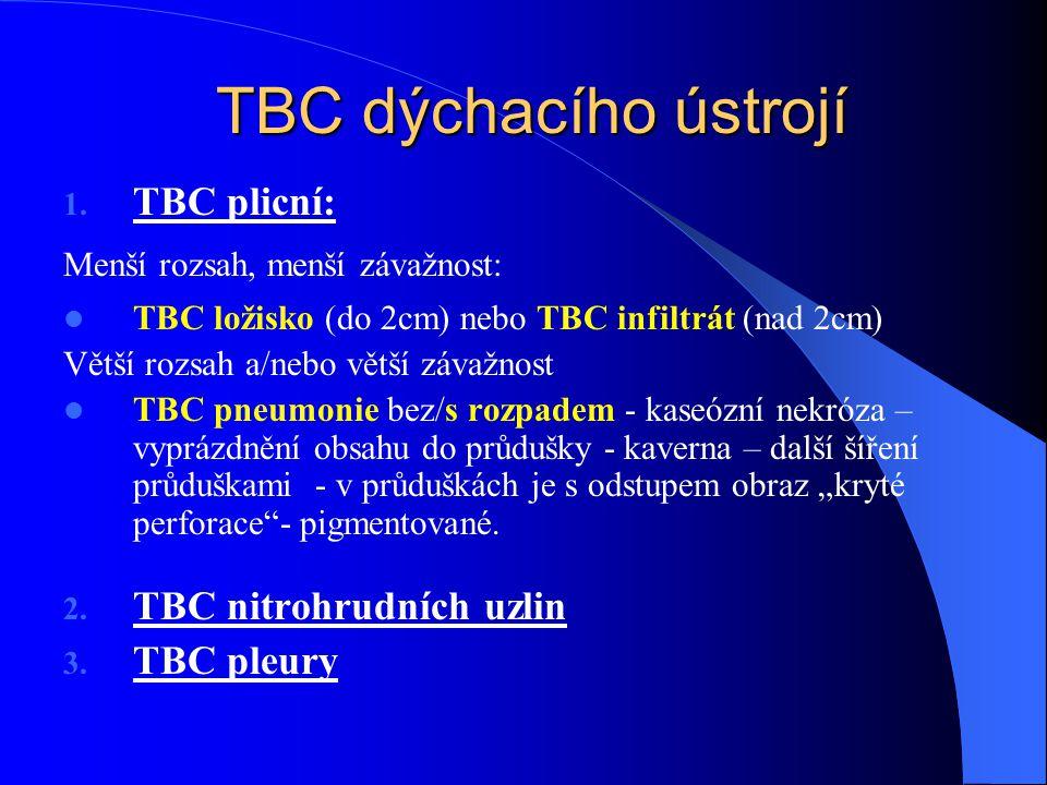 TBC dýchacího ústrojí 1.
