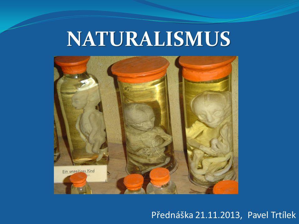 NATURALISMUS Přednáška 21.11.2013, Pavel Trtílek