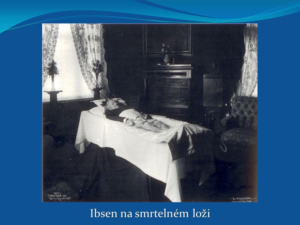 Ibsen na smrtelném loži