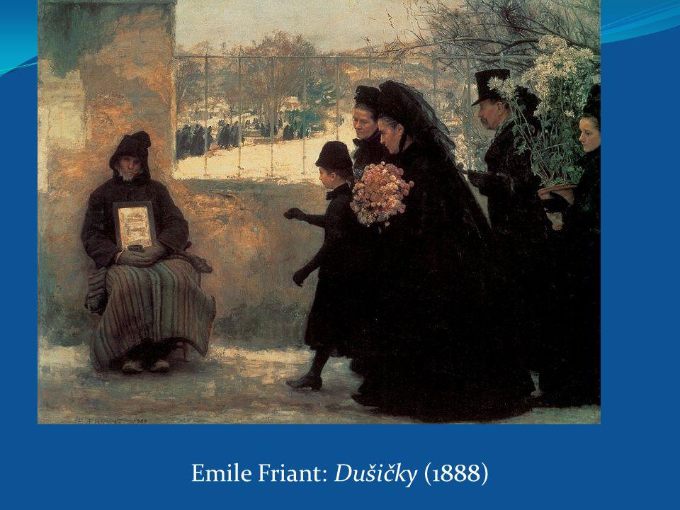 Emile Friant: Dušičky (1888)