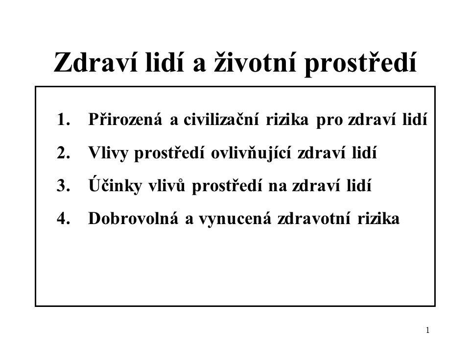 2 Literatura Braniš M.: Základy ekologie a ochrany životního prostředí, Informatorium, Praha 1999