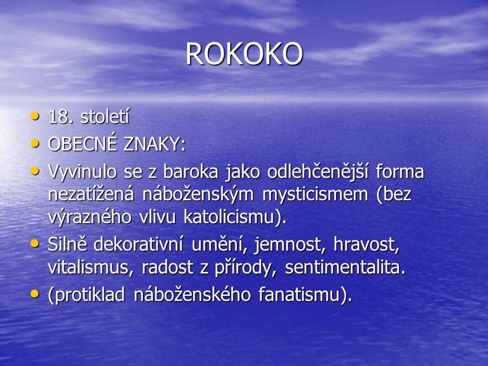 ROKOKO 18.století 18.