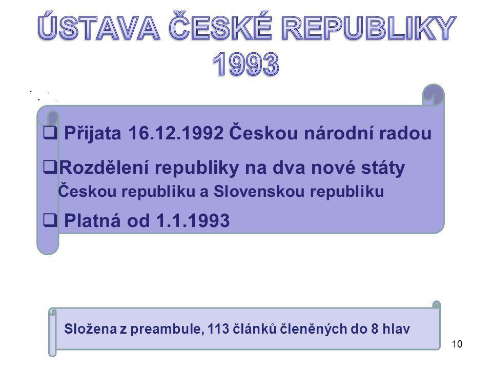 Od roku1960 názevOd roku1960 název Československá socialistická republika Od roku 1968 názevOd roku 1968 název Československá federativní republika 9