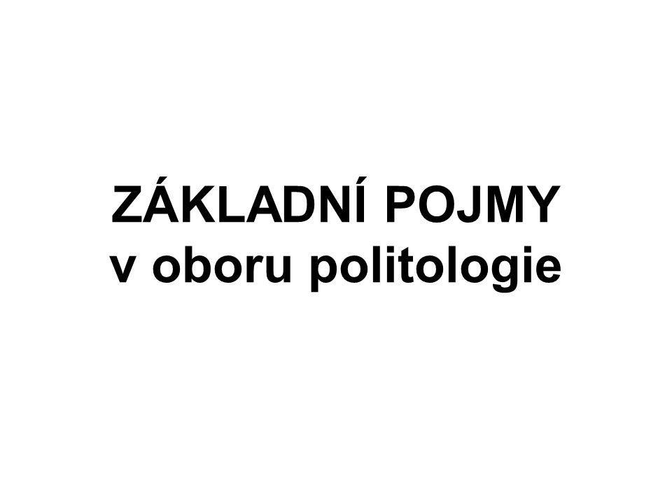 Co je to politika .