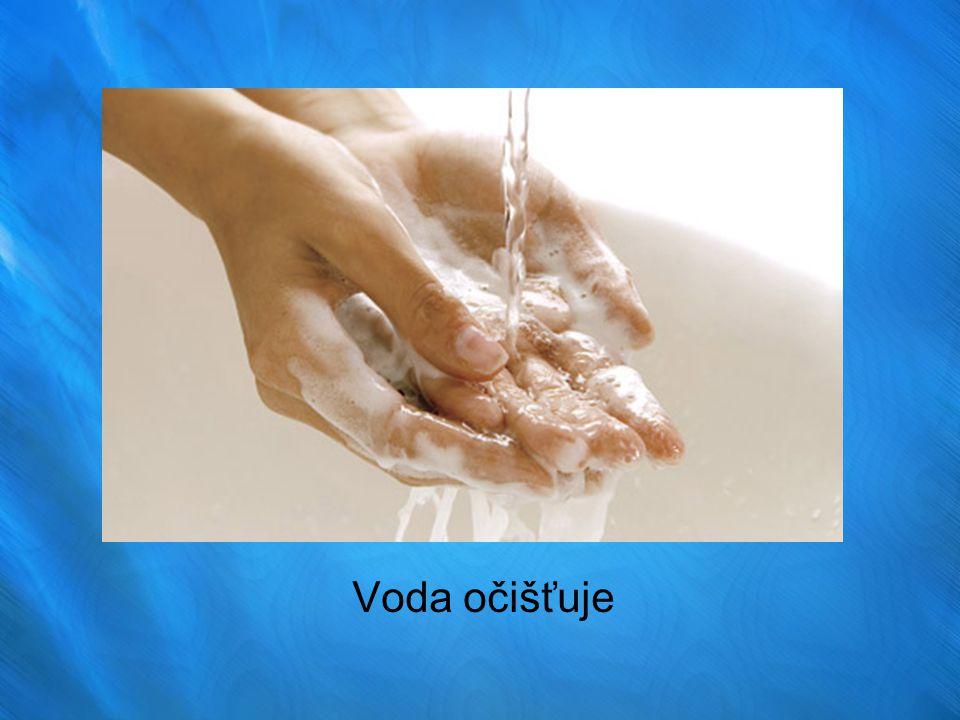 Voda očišťuje