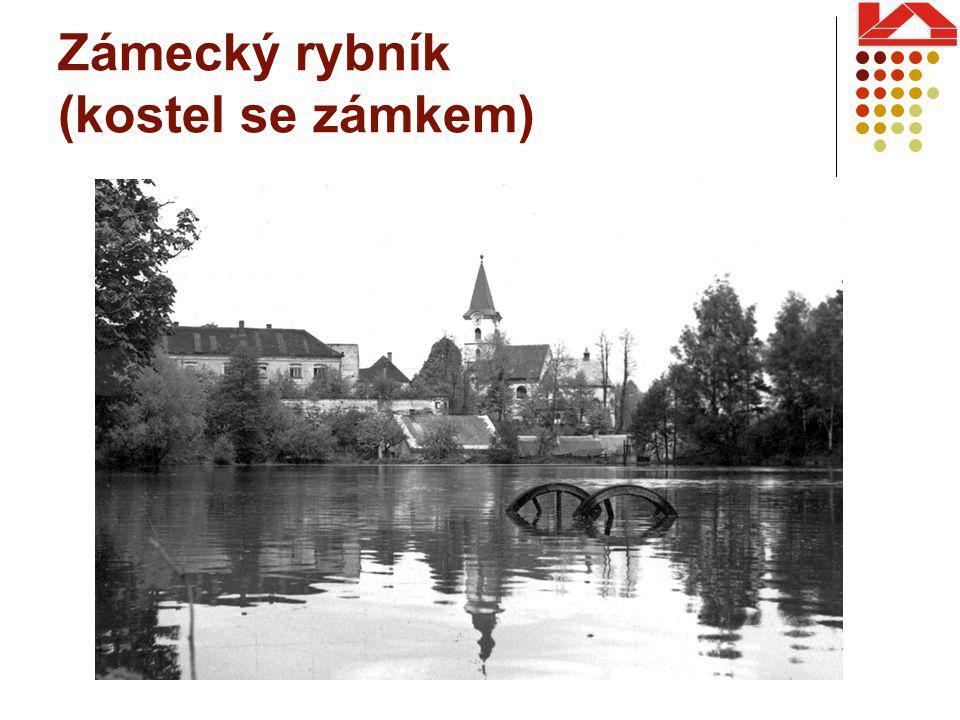 Zámecký rybník (kostel se zámkem)