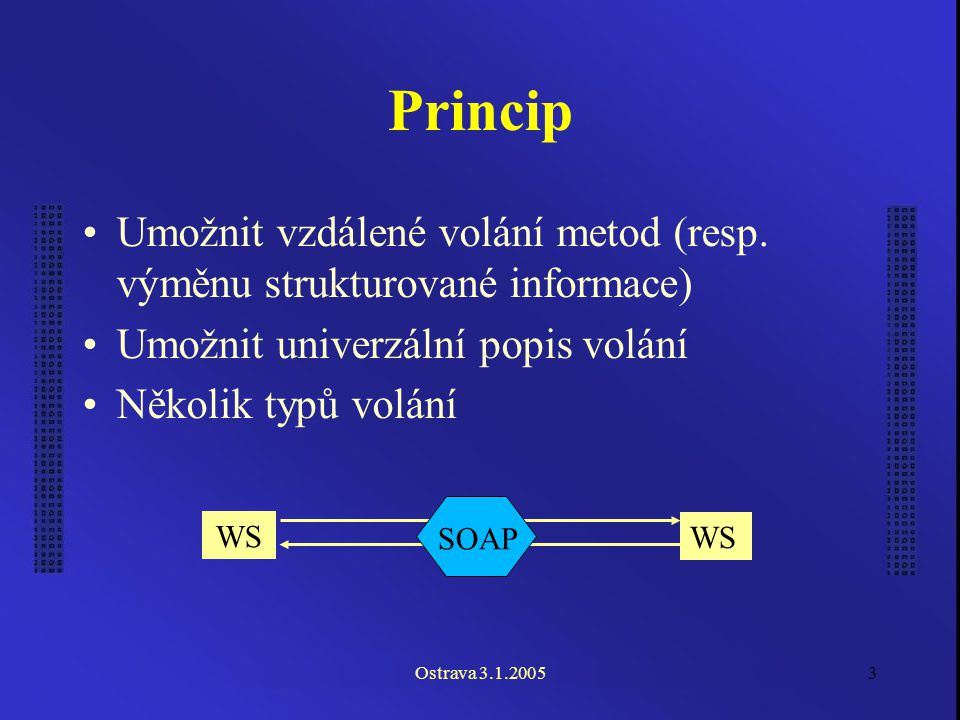 Ostrava 3.1.20054 Transportní protokoly HTTP HTTPS SMTP FTP...