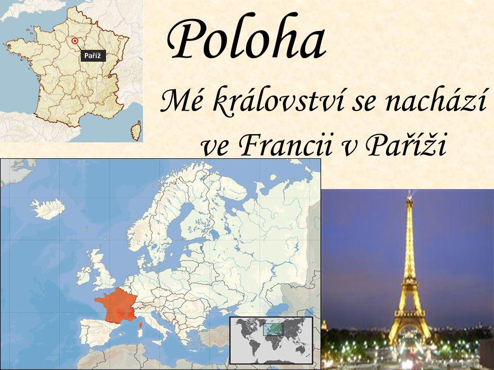 Poloha Mé království se nachází ve Francii v Paříži