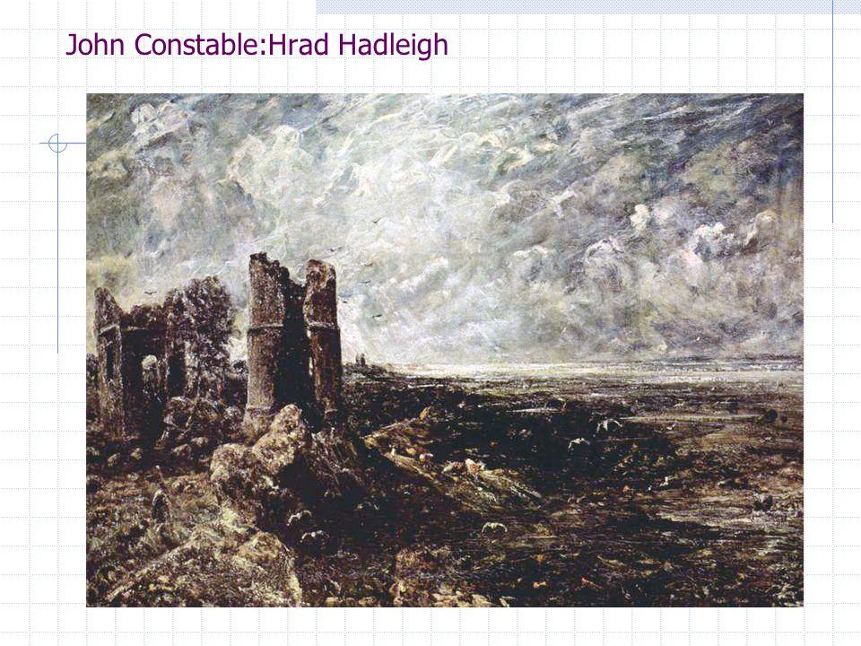 John Constable:Hrad Hadleigh