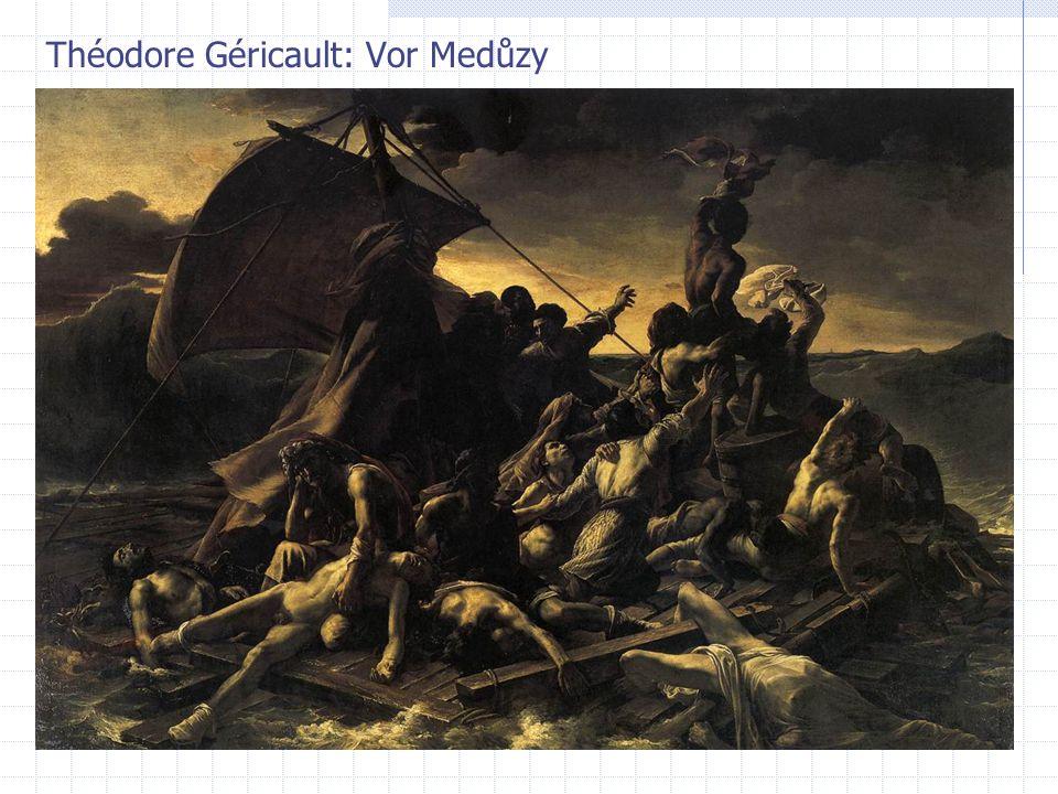 Théodore Géricault: Vor Medůzy