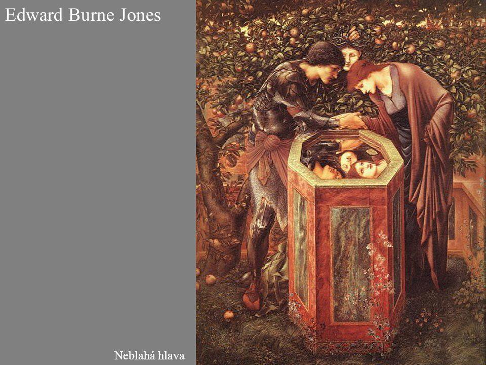 Edward Burne Jones Neblahá hlava
