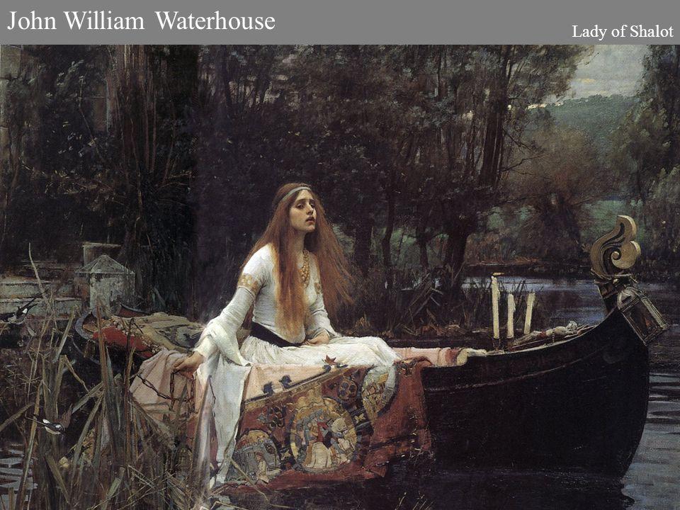 John William Waterhouse Lady of Shalot