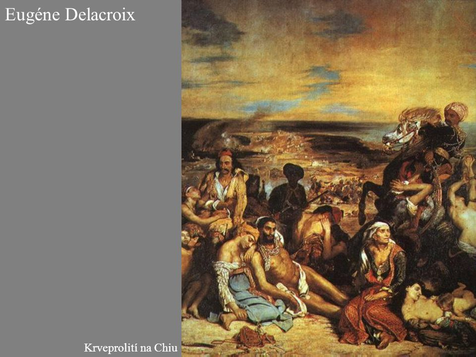 Krveprolití na Chiu Eugéne Delacroix
