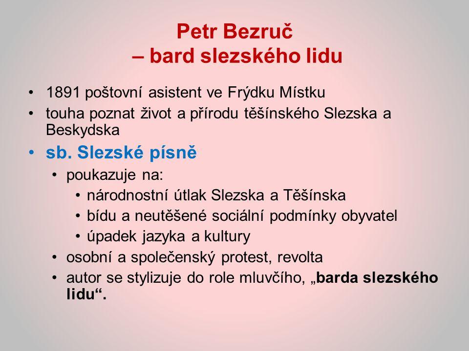 Literární tvorba první literární pokusy během gymnaziálních studií v Brně 1899 – 1900 zasílá pod pseudonymem P.