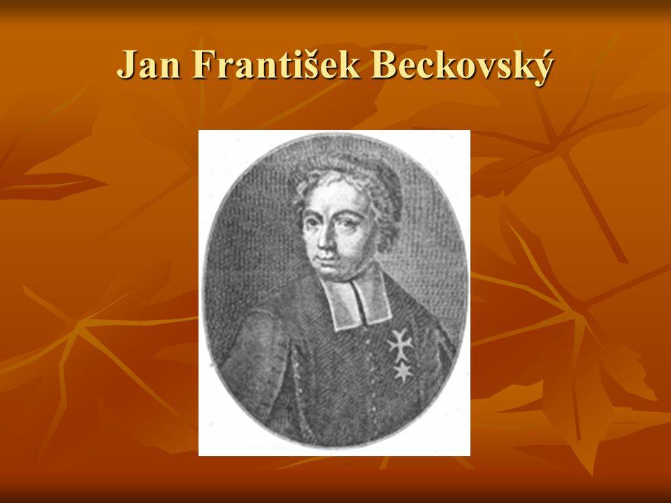 Jan František Beckovský