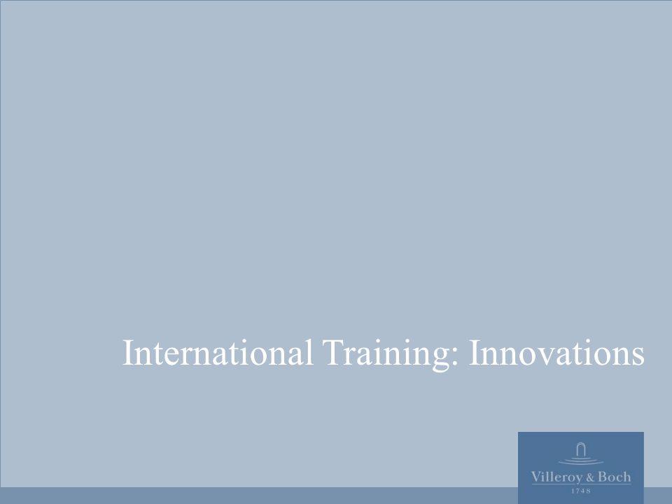 1  2009 International Training: Innovations